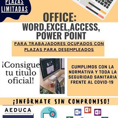 CURSO DE OFIMÁTICA: WORD, EXCEL, ACCESS Y POWER POINT