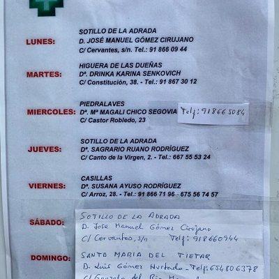 FARMACIAS DE GUARDIA 08-03-2021 AL 14-08-2021