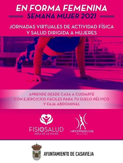 JORNADAS VIRTUALES DE ACTIVIDAD FÍSICA Y SALUD DIRIGIDA A MUJERES