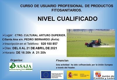 CURSO DE USUARIO PROFESIONAL DE PRODUCTOS FITOSANITARIOS NIVEL CUALIFICADO