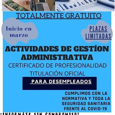 CURSO DE ACTIVIDADES DE GESTIÓN ADMINISTRATIVA