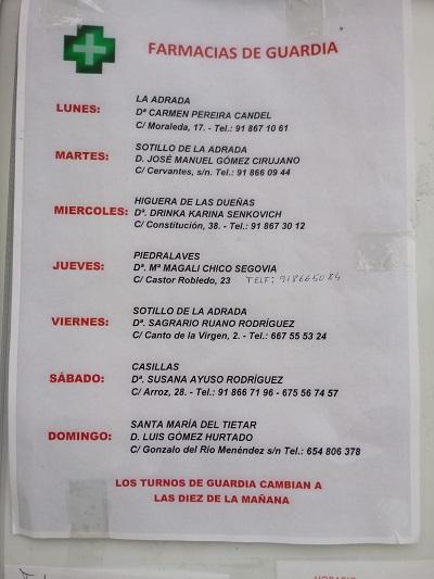 FARMACIAS DE GUARDIA 26-04-2021 AL 02-05-2021