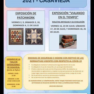 VERANO DE EXPOSICIONES 2021