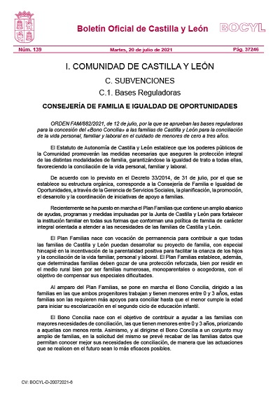 BONO CONCILIA