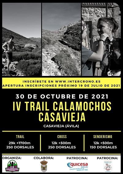 IV TRAIL CALAMOCHOS DE CASAVIEJA