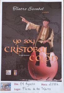 """Teatro Escabel presenta """"Yo soy Cristobal Colón"""" @ Plaza Los Tejares"""