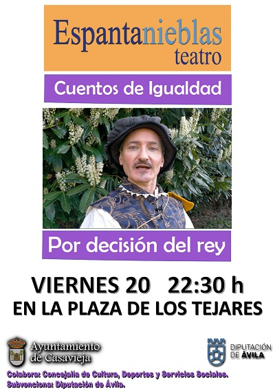 CUENTACUENTOS DE IGUALDAD DE ESPANTANIEBLAS TEATRO