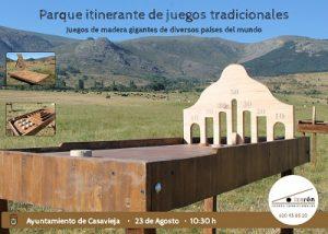 Parque itinerante de juegos tradicionales