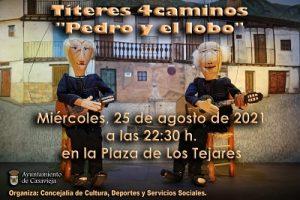 """Títeres 4caminos presenta """"Pedro y el lobo"""" @ Plaza Los Tejares"""