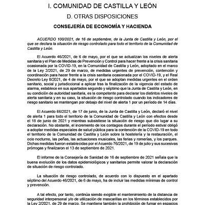 SITUACIÓN DE RIESGO CONTROLADO