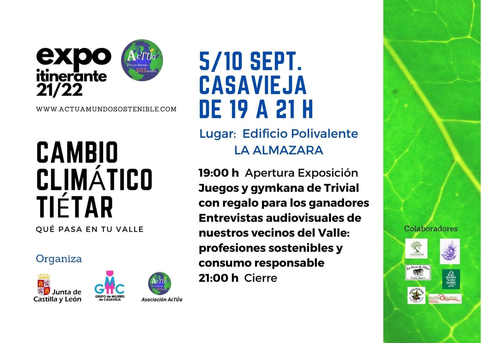 "Exposición ""Cambio Climático Tiétar"" @ Edificio Polivalente La Almazara"