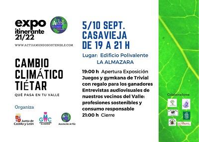 EXPO ITINERANTE 21/22 - CAMBIO CLIMÁTICO TIÉTAR